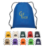 Customized Non Woven Sports Backpack - Promo Polypropylene Drawstring Bags