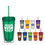 Custom Econo Double Wall Tumbler, Promotional 16oz Double Wall Tumbler