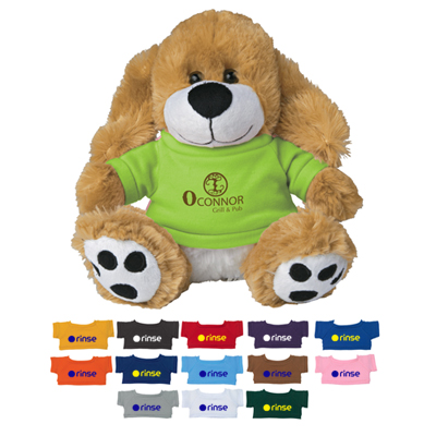 Plush Big Paw Dog With Shirt
