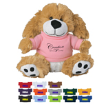 20815 - Small Plush Paw Dog with Shirt