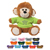 Personalized Stuffed Monkey with Shirt