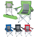 20824 - Mesh Folding Chair with Carrying Bag