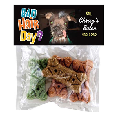 doggie bag with header card