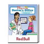 Imprinted Coloring Books - A Trip to the Doctor's Office