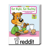 Customized Coloring Books - Eat Right Eat Healthy