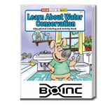 Bulk Reading and Coloring Books  - Learn About Water Conservation
