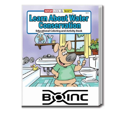 water conservation coloring book