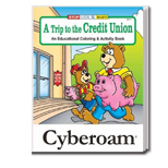 Personalized Coloring Books - A Trip to the Credit Union