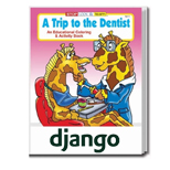 Bulk Logo Coloring Books - A Trip to the Dentist