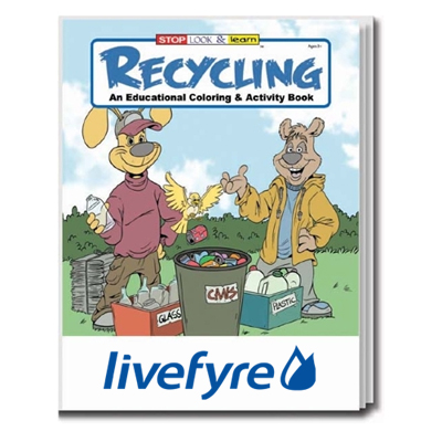 Recycling Coloring Book