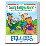 The Saving Energy & Water Custom Educational Coloring and Activity Book - The Saving Energy & Wate Coloring Book