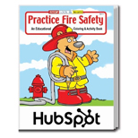 The Practice Fire Safety Imprinted Educational Coloring and Activity Book - Practice Fire Safety Coloring Book