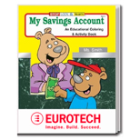 The My Savings Account Educational Coloring and Activity Book - My Savings Account Coloring Book