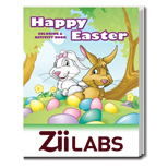 The Happy Easter Custom Coloring & Activity Book - Happy Easter Coloring Book