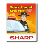 The Your Local Sheriff Personalized Coloring Book - Your Local Sheriff Coloring Book