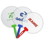 Promotional Plastic Hand Fan - Logo Imprinted Plastic Hand Fans