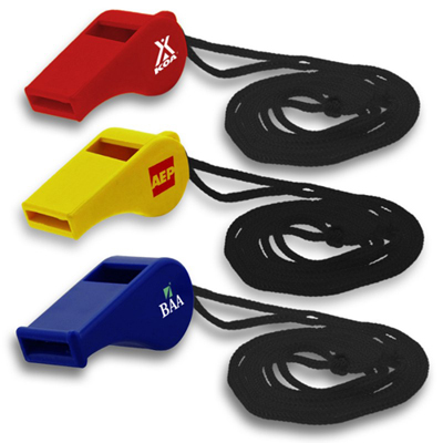 plastic event whistle