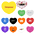 Promotional Heart Shaped Pick Mints - Bulk Heart Shaped Pick Mints