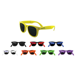 Promotional Collapsible Frames - Custom Collapsible Frame Retro Sunglasses