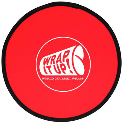 Fold-Up Flying Disk