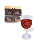 Promotional Plastic Wine Glasses