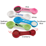 Custom Multi-Use Measuring Spoon - Logo Imprinted Multi-Use Measuring Spoon