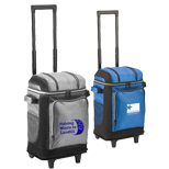 21086 - Coleman 42 Can Soft Sided Wheeled Cooler