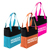 Promotional Two Tone Accent Tote - Imprinted Two Tone Accent Totes