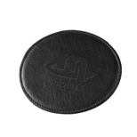 Promotional Round Coaster - Custom Round Coaster  - Napa Leather