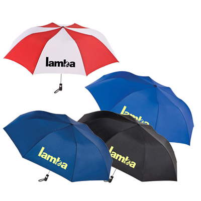 55 totes® golf folding umbrella