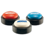 Imprinted Logo Big Sound Button - Promotional Logo Big Sound Button