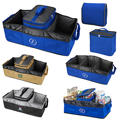 collapsible trunk organizer/cooler