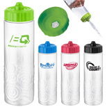 21276 - 24 oz Miramar Sure-Snap Water Bottle