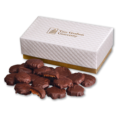 Pecan Turtles In Pillow Top Gift Box