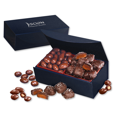 Chocolate Almonds & Chocolate Caramels