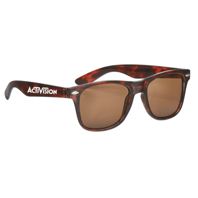 malibu sunglasses - tortoise