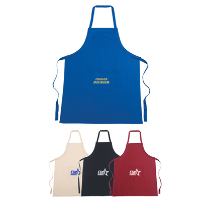 100% cotton apron (embroidery)