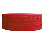 Promotional Logo Embossed Wristbands