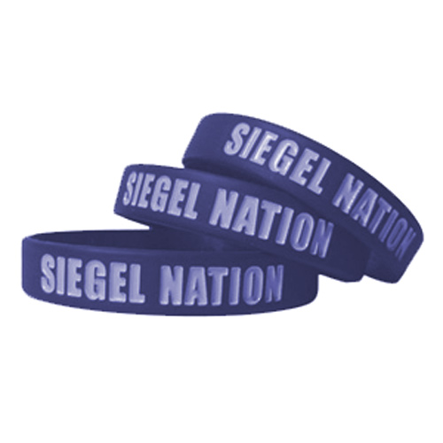 Custom Color Filled Wristbands 3/4