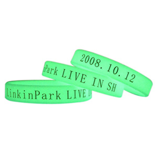 glow in the dark wristband 1/2