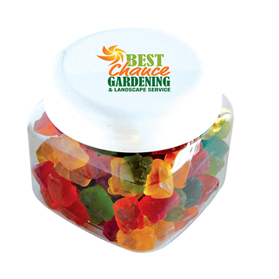 gummy bears in canister