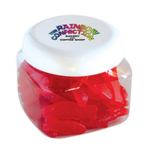 canister of swedish fish