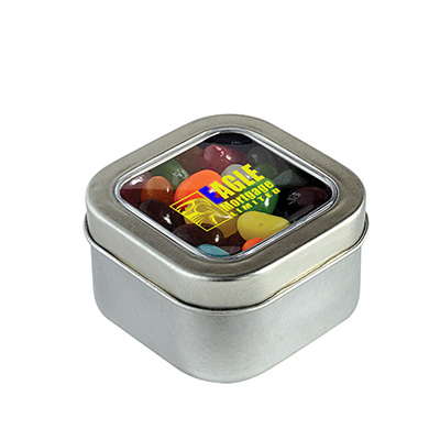 Square Tin of Jelly Bellys