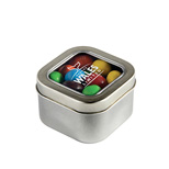 21436 - Square Tin of Peanut M&M's