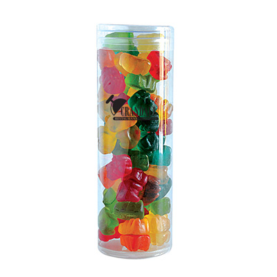 Gummy Bears in Fun Tube