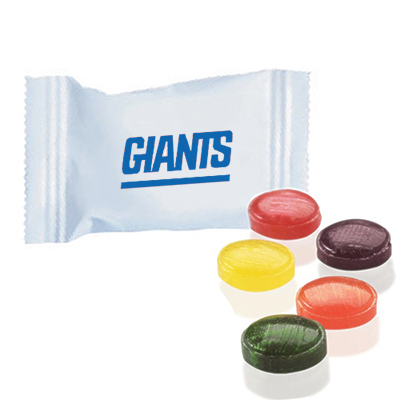 individually wrapped flavor burst candy