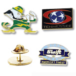"Personalized 1"" Die Struck Enamel Lapel Pin - Die Struck Enamel Lapel Pin"