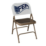 Promotional Chair Back Cover - Custom 11 X 20 Chair Back Cover
