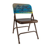 Imprinted Full Color Chair Back - Personalized 11 X 20 Full Color Chair Back