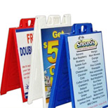 Promotional A Frame Sidewalk Sign Board - Bulk Sidewalk Sign Board